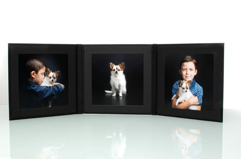 Folio met 3 beelden. Afwerking van uw beelden door Studio Ketels